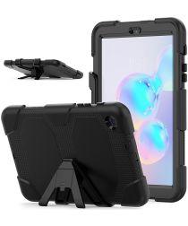 Samsung Galaxy Tab A 8.4 (2020) Shock Proof Hoes met Kickstand Zwart