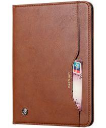 Samsung Galaxy Tab A 8.4 (2020) Portemonnee Tri-Fold Hoes Bruin