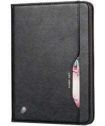 Samsung Galaxy Tab A 8.4 (2020) Portemonnee Tri-Fold Hoes Zwart