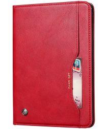 Samsung Galaxy Tab A 8.4 (2020) Portemonnee Tri-Fold Hoes Rood