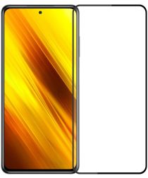 Xiaomi Poco X3/X3 Pro Screenprotector Volledig Dekkend Telefoonglaasje