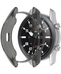 Samsung Galaxy Watch 3 41MM Hoesje Flexibel TPU Bumper Zwart