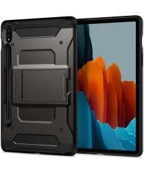 Spigen Tough Armor Pro Samsung Galaxy Tab S7 Hoes Gunmetal