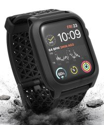 Catalyst Impact Protection Full Protect Apple Watch 44MM Hoesje Zwart