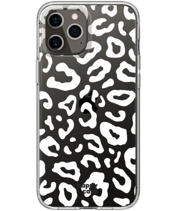 HappyCase Apple iPhone 12 Pro Flexibel TPU Hoesje Luipaard Print