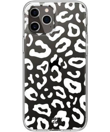 HappyCase iPhone 12 Pro Max Flexibel TPU Hoesje Luipaard Print
