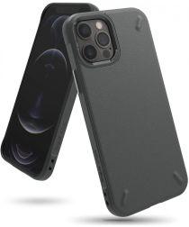Ringke Onyx Apple iPhone 12 / 12 Pro Hoesje Flexibel TPU Grijs