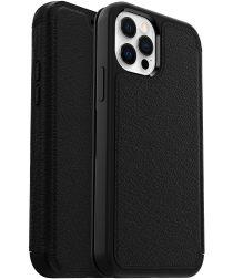 OtterBox Strada iPhone 12 / 12 Pro Hoesje Book Case Zwart