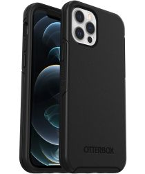 OtterBox Symmetry Apple iPhone 12 / 12 Pro Hoesje Zwart
