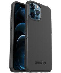 OtterBox Symmetry Series iPhone 12 Pro Max Hoesje Zwart