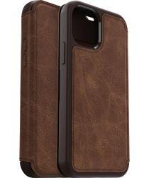 OtterBox Strada iPhone 12 / 12 Pro Hoesje Book Case Brown