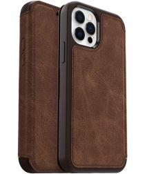 OtterBox Strada iPhone 12 / 12 Pro Hoesje Book Case Bruin