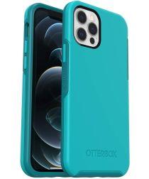 OtterBox Symmetry Apple iPhone 12 / 12 Pro Hoesje Blauw