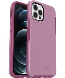 OtterBox Symmetry Apple iPhone 12 / 12 Pro Hoesje Roze