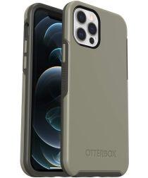OtterBox Symmetry Apple iPhone 12 / 12 Pro Hoesje Grijs