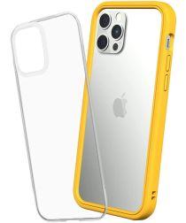 RhinoShield Mod NX Apple iPhone 12 / 12 Pro Hoesje Bumper Geel