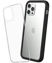RhinoShield Mod NX Apple iPhone 12 / 12 Pro Hoesje Bumper Zwart