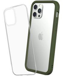 RhinoShield Mod NX Apple iPhone 12 / 12 Pro Hoesje Bumper Groen