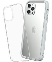 RhinoShield Mod NX Apple iPhone 12 / 12 Pro Hoesje Bumper Grijs