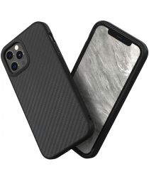 RhinoShield SolidSuit Apple iPhone 12 / 12 Pro Hoesje Carbon Fiber