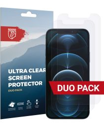 Rosso Apple iPhone 12 Pro Ultra Clear Screen Protector Duo Pack