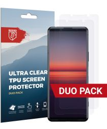 Rosso Sony Xperia 5 II Ultra Clear Screen Protector Duo Pack
