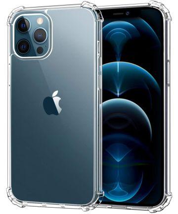 Apple iPhone 12 Pro Hoesje Schokbestendig en Dun TPU Transparant Hoesjes