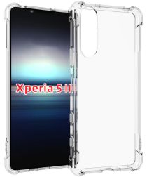 Sony Xperia 5 II Hoesje TPU Schokbestendig Transparant