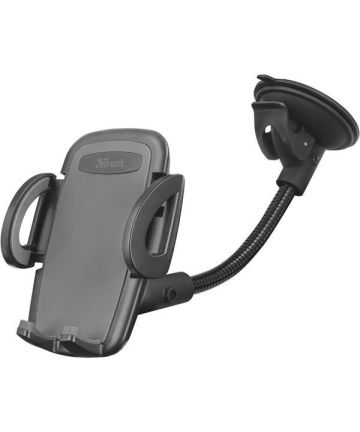 Trust Verstelbare Auto Dashboard Telefoon Houder Met Zuignap Zwart Houders