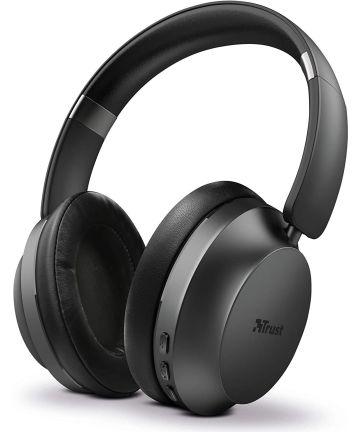 Trust Eaze Bluetooth Over-Ear Volledig Draadloze Koptelefoon Zwart Headsets