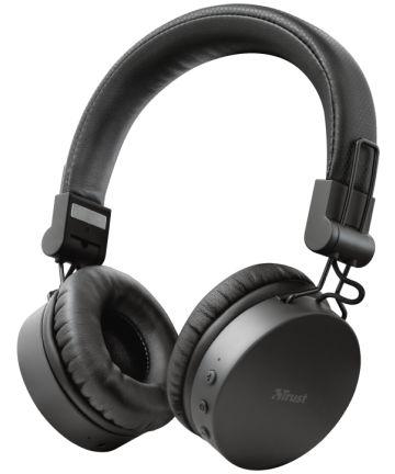 Trust Tones Bedraad/Bluetooth Draadloze On-Ear Koptelefoon Zwart Headsets