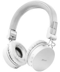 Trust Tones Bedraad/Bluetooth Draadloze On-Ear Koptelefoon Wit