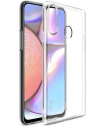 IMAK UX-5 Series Samsung Galaxy A20s Hoesje Dun TPU Transparant