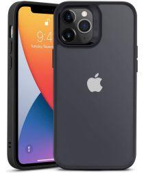 ESR Classic Hybrid Apple iPhone 12 / 12 Pro Hoesje Transparant Zwart