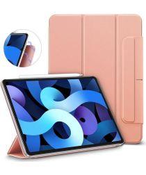 ESR Rebound Magnetic Apple iPad Air 2020 Hoes Tri-Fold Roze Goud