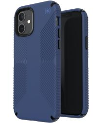Speck Presidio 2 Grip Apple iPhone 12 / 12 Pro Hoesje Blauw