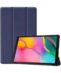 Samsung Galaxy Tab A 10.1 (2019) Tri-fold Hoes Donker Blauw