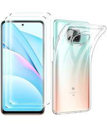 Xiaomi Mi 10T Lite 5G Soft Case + Screen Protector Transparant