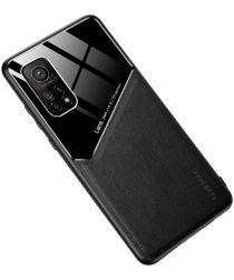 Generous Xiaomi Mi 10T (Pro) Magnetisch Hybride Back Cover Zwart