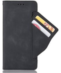 Sony Xperia 5 II Portemonnee Hoesje met Kaarthouder Zwart