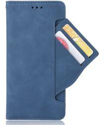 Sony Xperia 5 II Portemonnee Hoesje met Kaarthouder Blauw