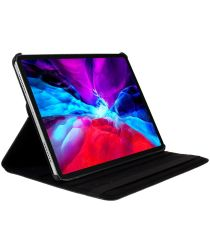 Apple iPad Air 2020 360 Graden Case met Stand Zwart