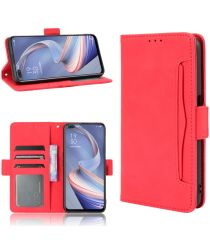 Oppo Reno 4 Z 5G Portemonnee Hoes Rood
