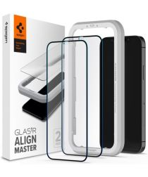 Spigen iPhone 12/12 Pro Tempered Glass Screenprotector AlignMaster