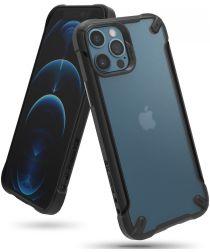 Ringke Fusion X2 Apple iPhone 12/12 Pro Hoesje Transparant Matte Zwart