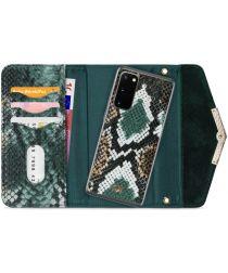 Mobilize Velvet Clutch Samsung Galaxy S20 Hoesje Green Snake