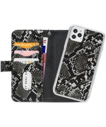 Mobilize Gelly Wallet Zipper iPhone 12 / 12 Pro Hoesje Black Snake