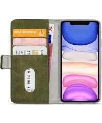 Mobilize Elite Gelly Wallet Apple iPhone 11 Hoesje Book Case Groen