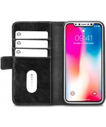 Mobilize Elite Gelly Wallet Apple iPhone XS / X Hoesje Book Case Zwart