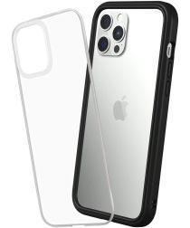 RhinoShield Mod NX Apple iPhone 12 Pro Max Hoesje Transparant/Zwart